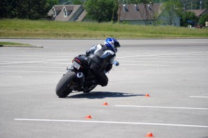 Motorcycle Training: This rider wanted to get better at managing traction