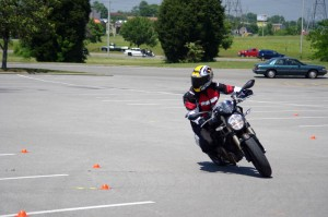 Motorcycle Training: This woman wanted to improve her skills and confidence in tight conditions
