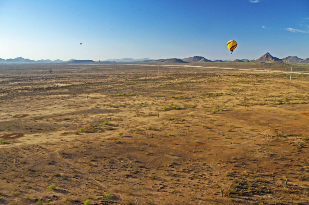 Motorcycle Rides in Arizona: Sedona, Scottsdale area - A balloon ride