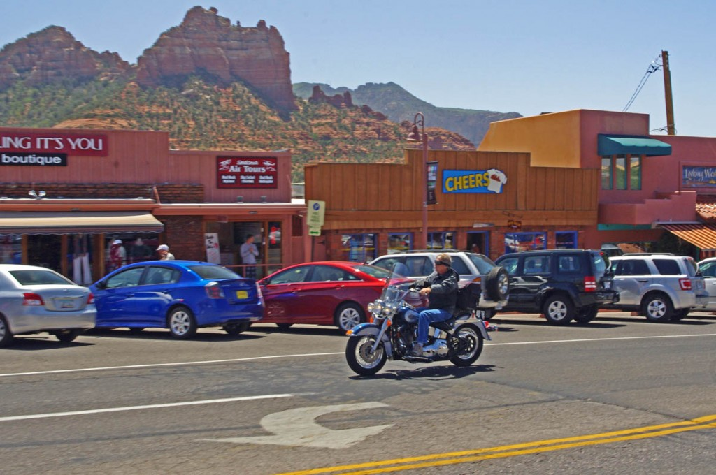 Motorcycle Rides in Arizona: Sedona, Scottsdale area - Cruising through Sedona