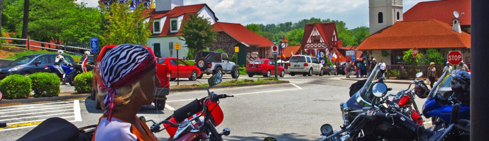 Fun Motorcycle Rides in Georgia - Helen