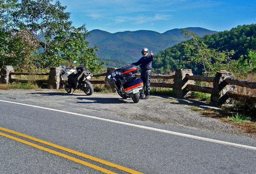 Great Motorcycle Rides North Carolina - The Rattler