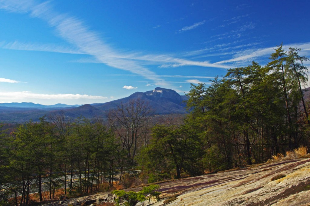 Great Motorcycle Rides in North Carolina - Pisgah Triangles - view from Caesar's Head