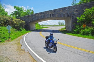 Great Motorcycle Rides in North Carolina - Pisgah Triangles - US 276