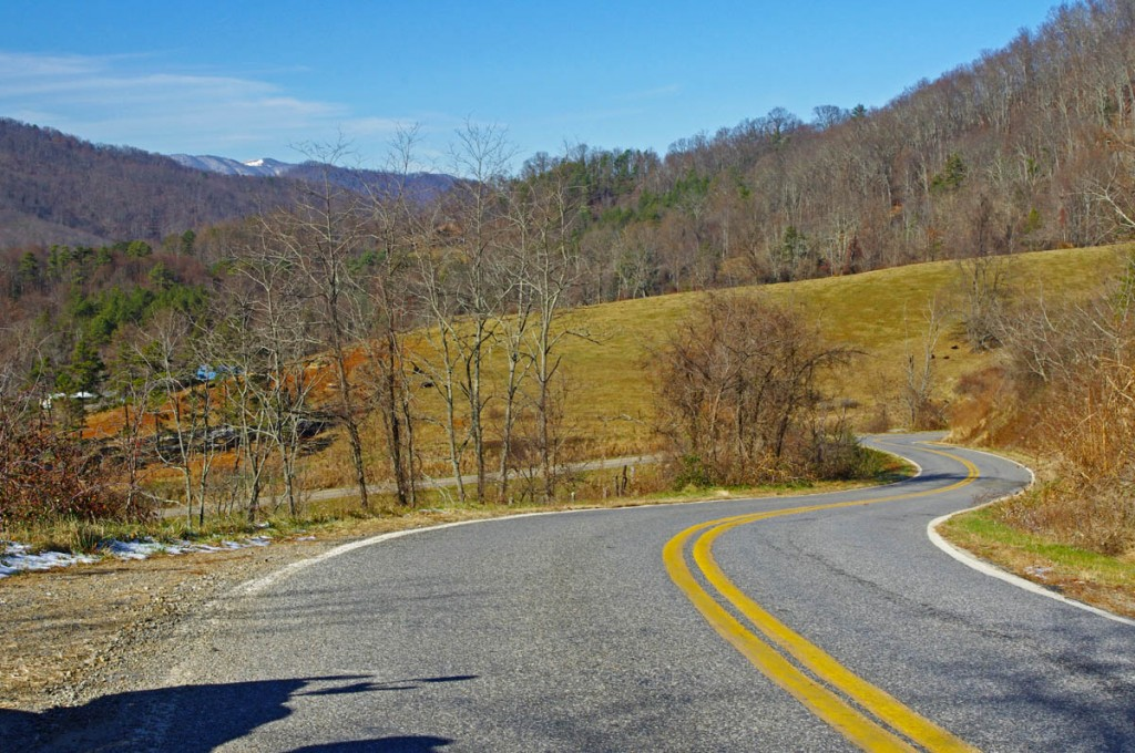 Best Motorcycle Rides in North Carolina - Earlys Mtn Rd