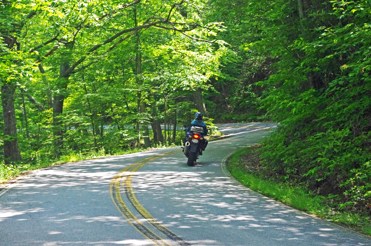 Best Motorcycle Rides In North Carolina The Section Of NC 151