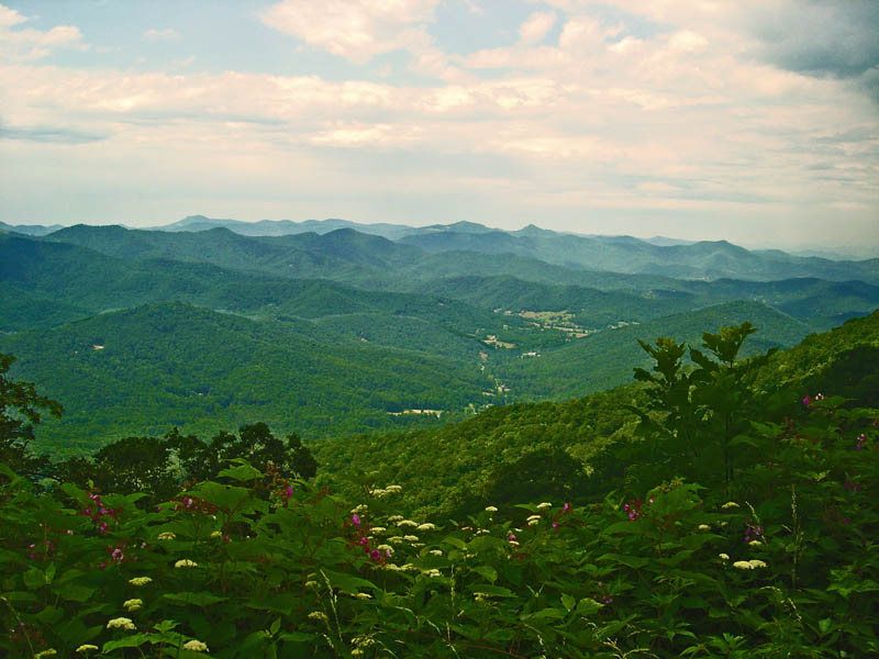 Best Motorcycle Rides in North Carolina - Pisgah View