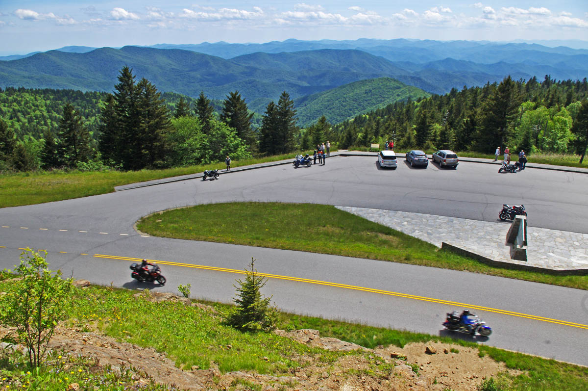 Blue ridge parkway to tail of the dragon map travel for High pointe