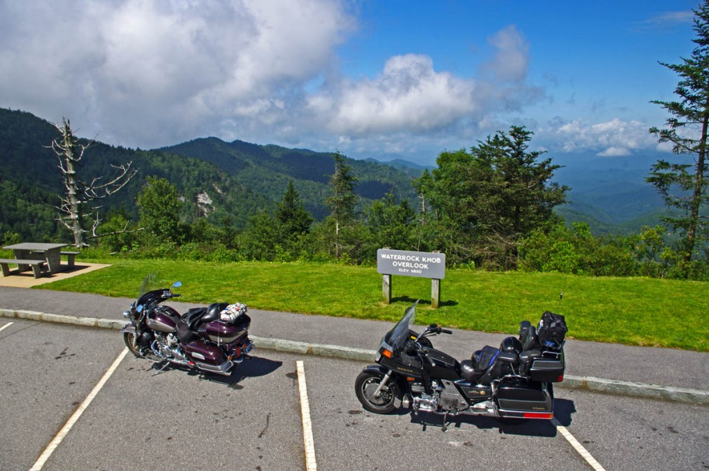 Best Blue Ridge Parkway Overlooks by Motorcycle - west view