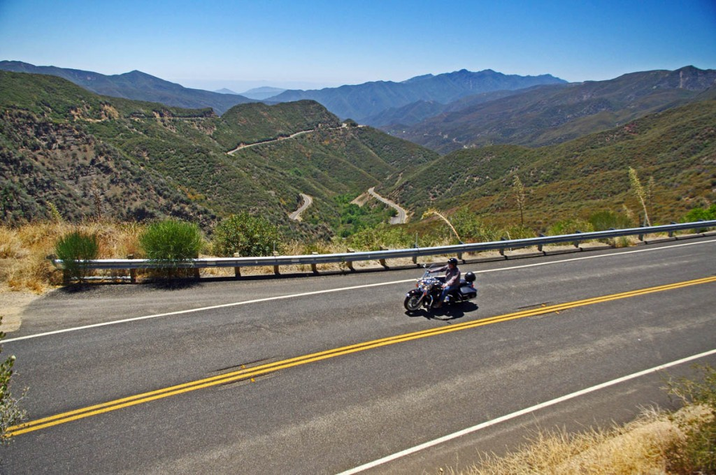 Top 10 Motorcycle Rides - Pacific Coast Highway vs. Blue Ridge Parkway