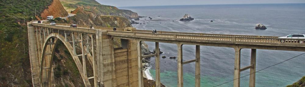 Top 10 Motorcycle Rides - Pacific Coast Highway vs. Blue Ridge Parkway