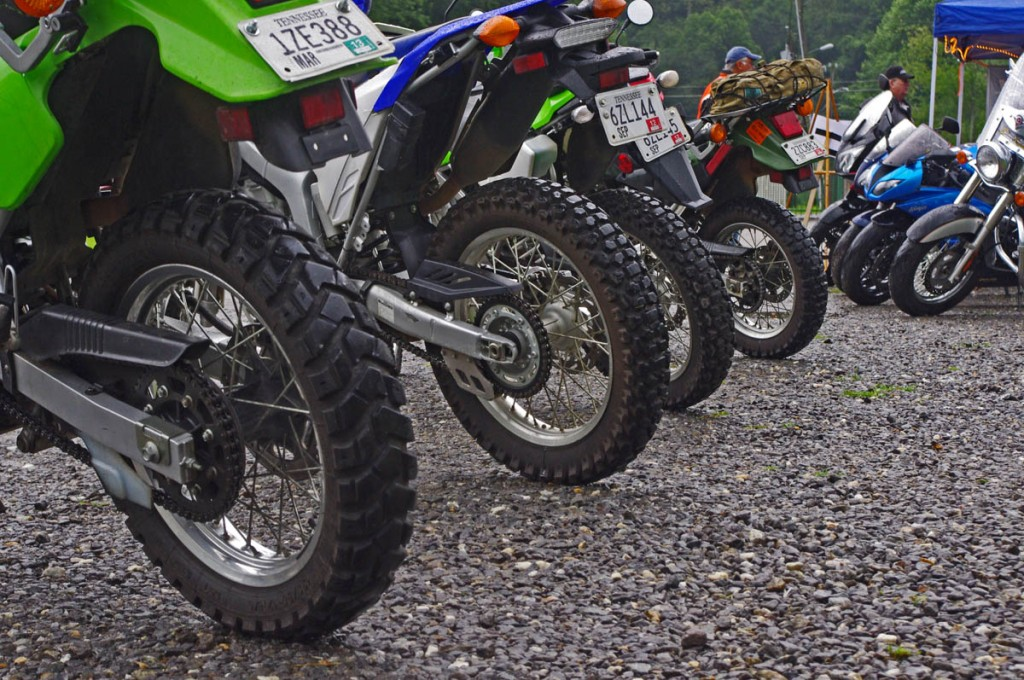 RoadRUNNER Magazine Event in Maggie Valley - Rental bikes of all sorts were available