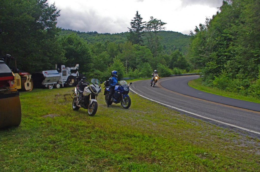 Best Motorcycle Rides North Carolina - NC 215