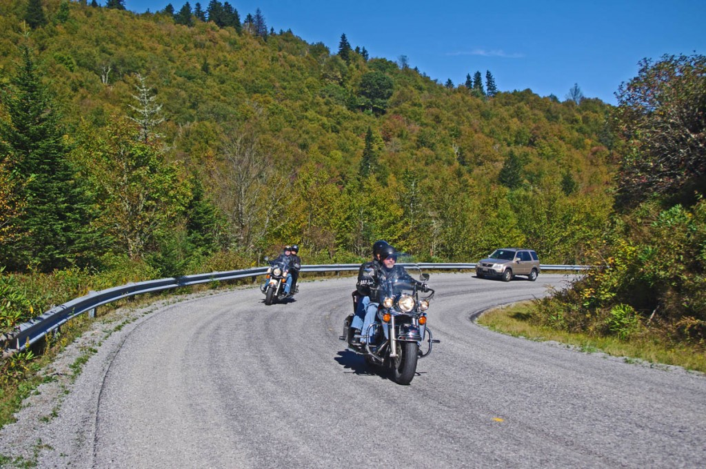 Best Motorcycle Roads in North Carolina - NC 215