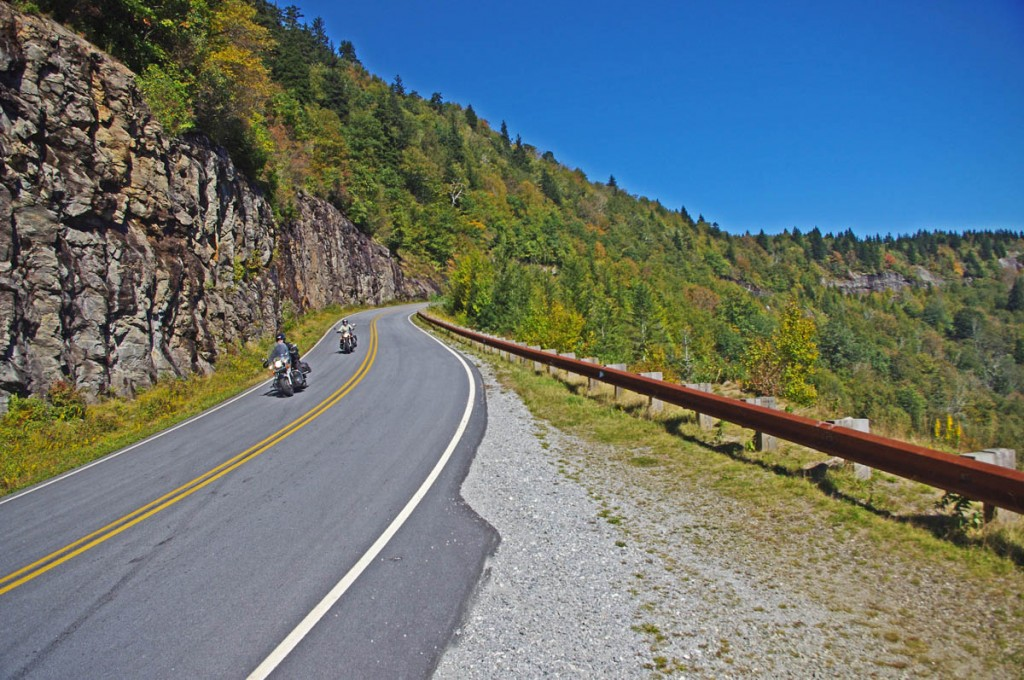 Best Motorcycle Rides in North Carolina - NC 215