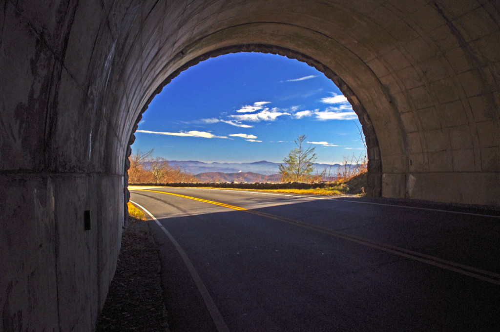 Riding the Blue Ridge Parkway  Tips - Taming the Tunnels