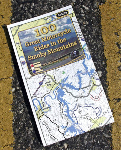 100 Great Motorcycle Rides in the Smoky Mountains Map