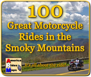 100 Great Motorcycle Rides mapin the Smoky Mountains