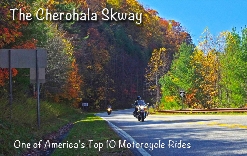 Fall color on the North Carolina end of the Cherohala Skyway