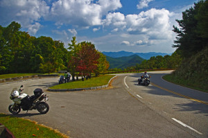 Stop to enjoy the views from the nice overlooks on the Cherohala Skyway