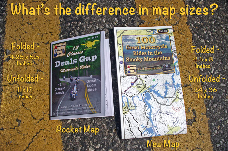 America Rides Maps motorcycle ride maps