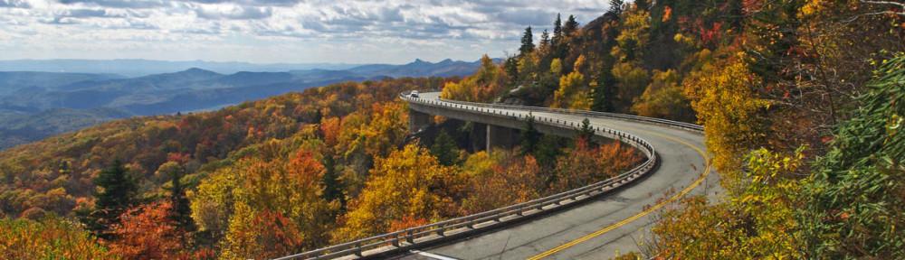 Linn Cove Viaduct Fall Colors