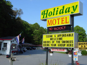 A holiday motel in Maggie Valley