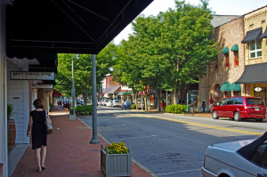 Main Street, downtown Waynesville