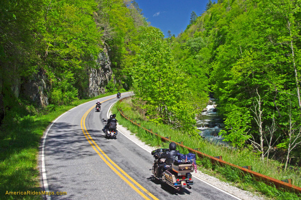 Best Motorcycle Rides In NC