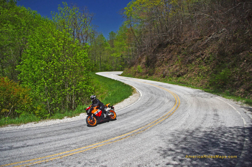 Best Motorcycle Rides, NC - Wayah Road