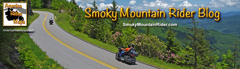 Smoky Mountain Motorcycle Rider