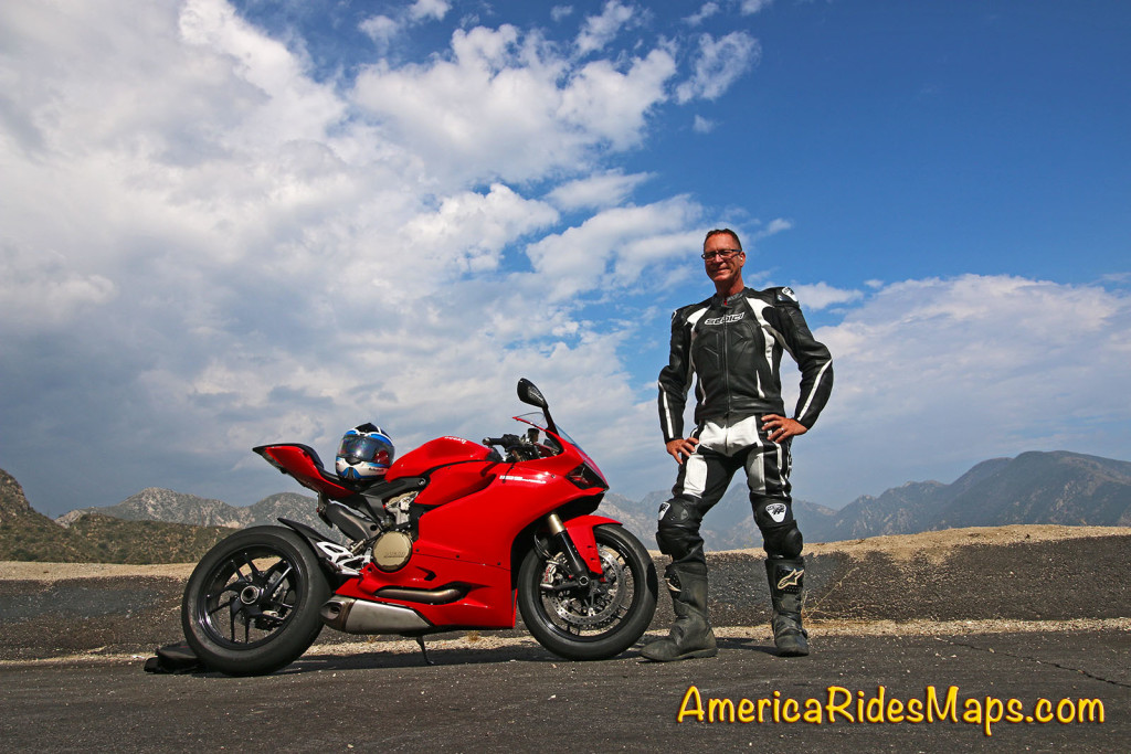 3 days with a Ducati Panigale 1199 - Angeles crest Highway, CA