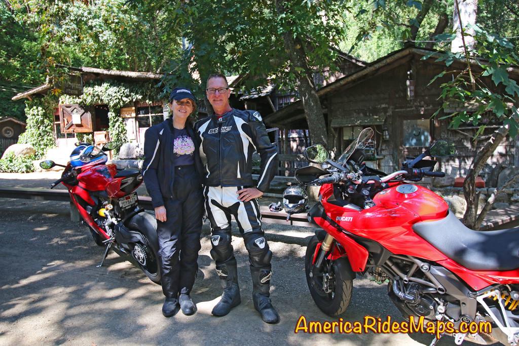 Wayne and Jackie at Cold Springs Tavern