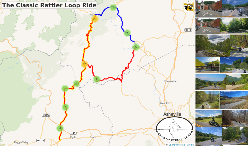 America Rides Maps Smoky Mountain Motorcycle Rider - Interactive Motorcycle Map Of The Us